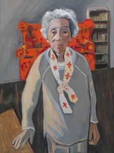 Frances at 103 by Carolyn Schlam
